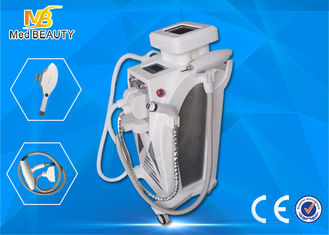 চীন Multifunction Elight Ipl Rf Q Switched Nd Yag Laser Hair Removal Pigment Removal Equipment সরবরাহকারী